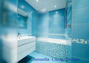 Pictures of Bathroom Designs with Tiles by SCD