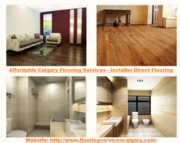 Obtaining The Best Services Of Cheap Flooring Calgary