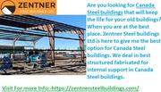Alberta Steel Buildings manufacturer-Zentner Steel