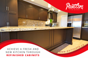 Achieve A Fresh and New Kitchen Through Refinished Cabinets