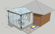 canopes, windows, , copper, aluminum
