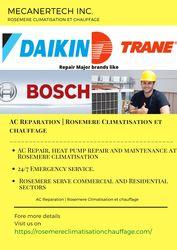 AC Reparation | Rosemere Climatisation et chauffage