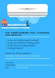 Air Conditioning full Cleaning and Service