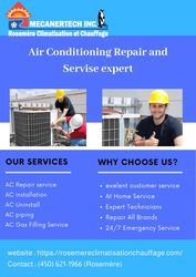 Air Conditioning Repair in Blainville   Rosemere Climatisation et Chau