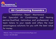Air Conditioning Rosemère | Climatisation Rosemère