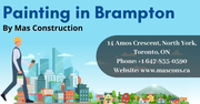 Painting in Brampton for Commercial and Residential