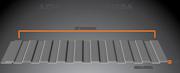 Modular,  Liner,  Insulated Mesa Panel - Trimet